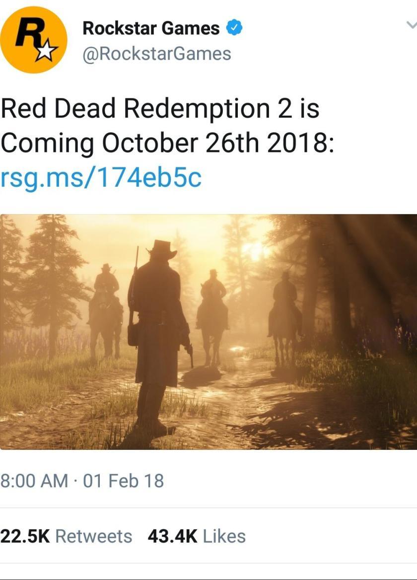 RDR2 confirm