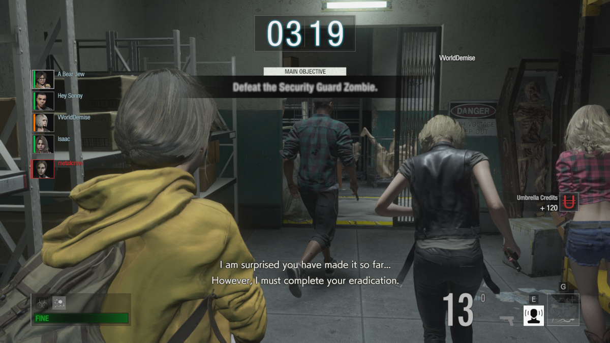Video Game Review: Resident Evil: Resistance